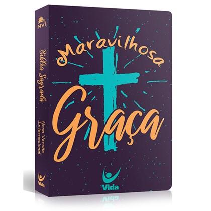 Bíblia Maravilhosa Graça   NVI   Capa Dura