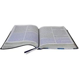 Bíblia Missionária de Estudo | ARA | Letra Normal | Capa Azul Escuro