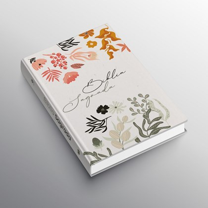 Bíblia Mulher que Teme Flores | ACF | Letra Normal | Capa Dura