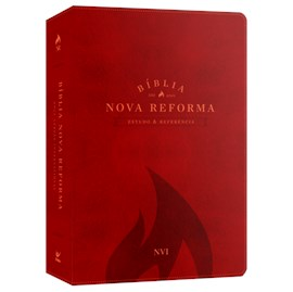 Bíblia Nova Reforma Estudo e Referência | ARA | Vermelha Luxo