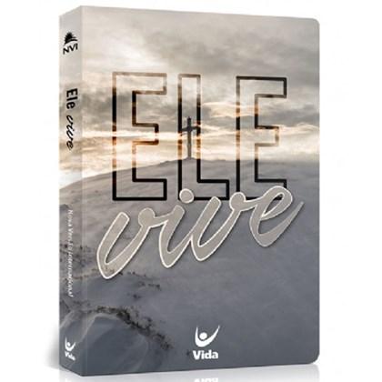 Bíblia NVI | Ele Vive | Capa Semi-luxo Flexível