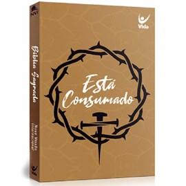 Bíblia NVI | Está Consumado | Capa Brochura