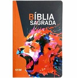 Bíblia NVI Leão Rugindo | Letra Normal | Capa dura