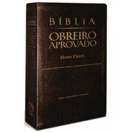 Bíblia - Obreiro Aprovado | Letra Normal | ARC | Capa Preta