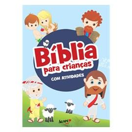 Bíblia para Crianças com Atividades | Brochura