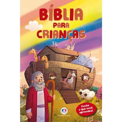 Bíblia para Crianças | Conte o que você Leu | Capa Dura