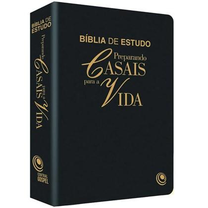 Bíblia Preparando Casais Para a Vida | ARC | Preta