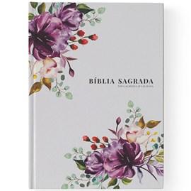 Bíblia Primavera Floral | NAA | Letra Grande | Capa Dura