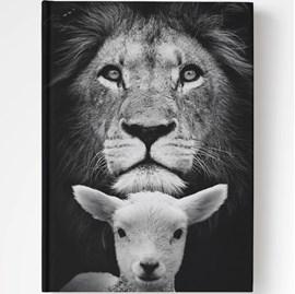 Bíblia Purificador Leão e Ovelha | NAA | Letra Normal | Capa Dura