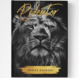 Bíblia Redentor Leão | NAA | Letra Normal | Capa Dura