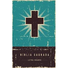Bíblia Retrô Turquesa | Leitura Perfeita | NVI | Letra Grande | Capa Dura