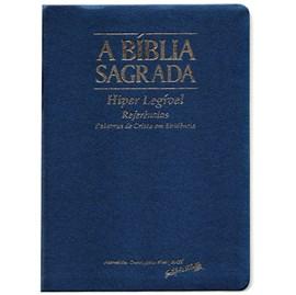 Bíblia Sagrada | ACF | Hiper Legível | Capa Azul C/ Índice