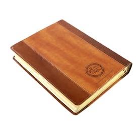 Bíblia Sagrada | ACF | Hiper Legível | Capa Bicolor Chocolate Havana C/ Índice