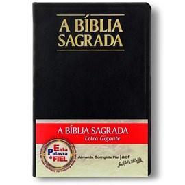 Bíblia Sagrada | ACF | Letra Gigante | Capa Preta C/ Índice