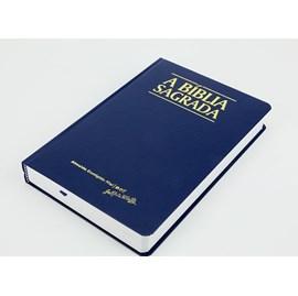 Bíblia Sagrada | ACF | Letra Grande | Capa Clássica Azul Semi-Luxo