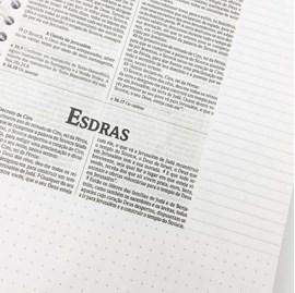 Bíblia Sagrada Anote Espiral Flores Aquarela | NVI | Letra Normal | Capa Dura