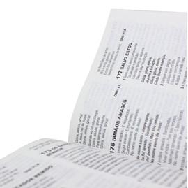 Bíblia Sagrada   ARC   Letra Maior   Capa Brochura Ilustrada C/ Harpa Cristã
