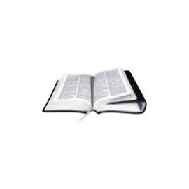 Bíblia Sagrada Carteira com Harpa Cristã | Letra Normal | ARC | Capa Couro Preta