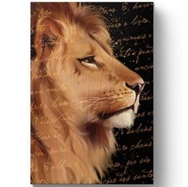 Bíblia Sagrada com Harpa Avivada e Corinhos Leão de Judá | ARC | Letra Gigante | Capa Dura