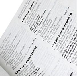 Bíblia Sagrada Com Harpa Cristã | Letra Grande | ARC | Capa Marrom Nobre c/ índice