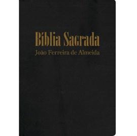 Bíblia Sagrada com Mapas | ARC Gigante | com Índice | Capa Luxo Preta
