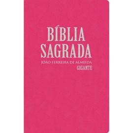 Bíblia Sagrada com Mapas | RC Gigante | Capa Semiluxo Rosa