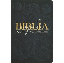 Bíblia Sagrada Éden Azul | NVT | Letra Grande | Capa Dura Soft Touch