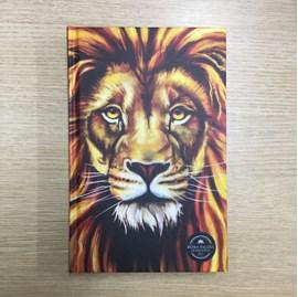 Bíblia Sagrada em Espanhol RVT Leão Colorido Aslam | Capa Dura