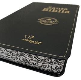 Bíblia Sagrada em Espanhol RVT | Preta C/ Dourado Raminhos