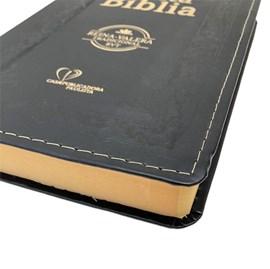 Bíblia Sagrada em Espanhol RVT | Preto Luxo C/ Dourado