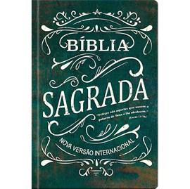 Bíblia Sagrada Felizes são aqueles | NVI | Letra Normal | Capa Dura