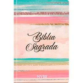 Bíblia Sagrada Feminina Colorida | NVI | Letra Normal | Capa Dura