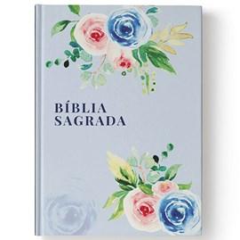 Bíblia Sagrada Floral Alegria | NAA | Letra Normal | Capa Dura