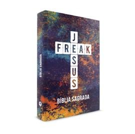 Bíblia Sagrada Jesus Freak | NVI | Capa Dura Color