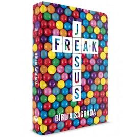 Bíblia Sagrada Jesus Freak | NVI | Capa Dura Sweet