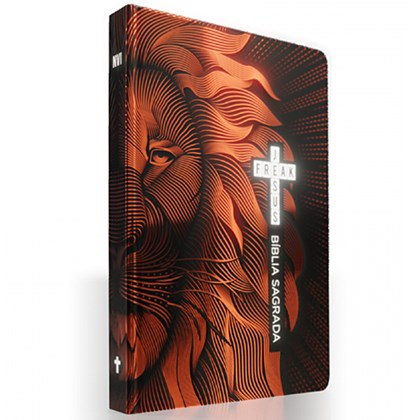 Bíblia Sagrada Jesus Freak   NVI   Leão Bronze