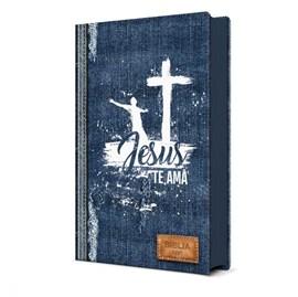 Biblia Sagrada Jesus te Ama | NVI | Letra Normal | Capa Dura Soft-Touch