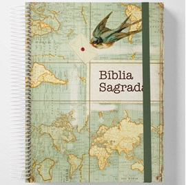 Bíblia Sagrada Jornada Anote Espiral | NAA | Letra Maior | Send