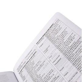 Bíblia Sagrada Jornada Anote   NAA   Letra Maior   Capa Aquarela Luxo