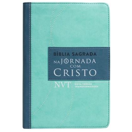 Bíblia Sagrada - Jornada com Cristo   NVT   Capa Verde