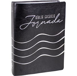 Bíblia Sagrada Jornada | NAA | Letra Normal | Capa Preta Edição Luxo