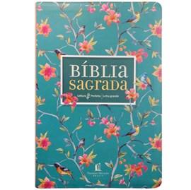 Bíblia Sagrada - Leitura Perfeita | Letra Grande | NVI | Capa Flores