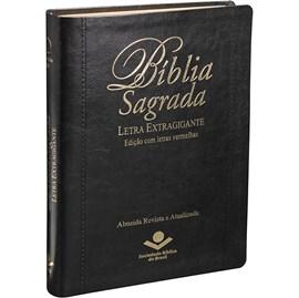 Bíblia Sagrada | Letra Extragigante | ARA | Preta Luxo | c/ Índice