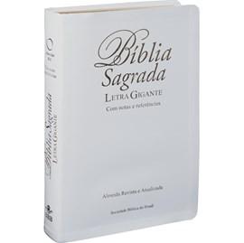 Bíblia Sagrada | Letra Gigante | ARA | Capa Branca Luxo | c/ Índice