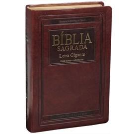 Bíblia Sagrada | Letra Gigante | ARA | Capa Marrom Nobre Luxo | c/ índice