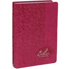 Bíblia Sagrada | Letra Gigante | ARA | Capa Pink Luxo | c/ Índice