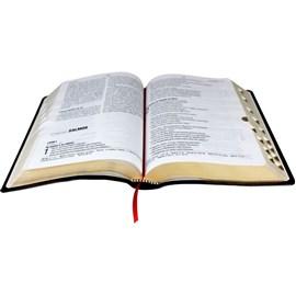 Bíblia Sagrada   Letra Gigante   NAA   Capa Marrom Luxo   c/ Índice