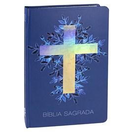 Bíblia Sagrada  | Letra Normal | ARA | Capa Dura Cruz Luz