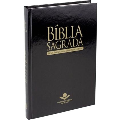 Bíblia Sagrada | Letra Normal | NTLH | Capa Preta