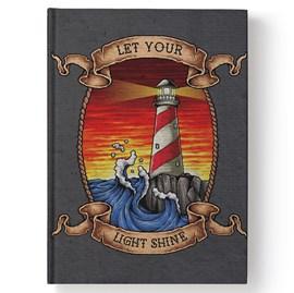 Bíblia Sagrada Light Shine | NAA | Letra Normal | Capa Dura